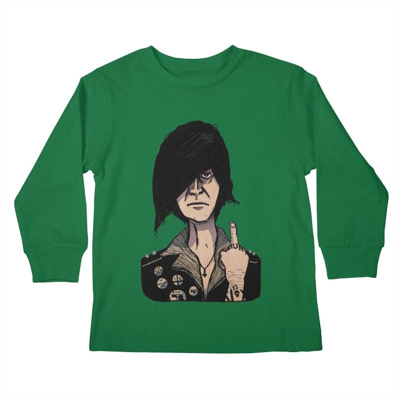 F Off Kids Longsleeve T-Shirt by leegrace.com