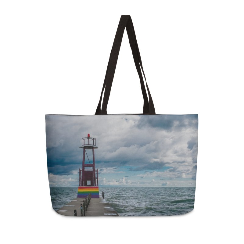 Rainbow Pier Accessories Bag by leff.photo