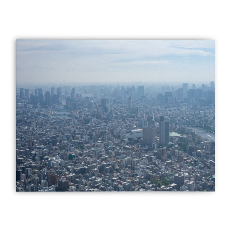 Tokyo from Above Home Stretched Canvas by leff.photo