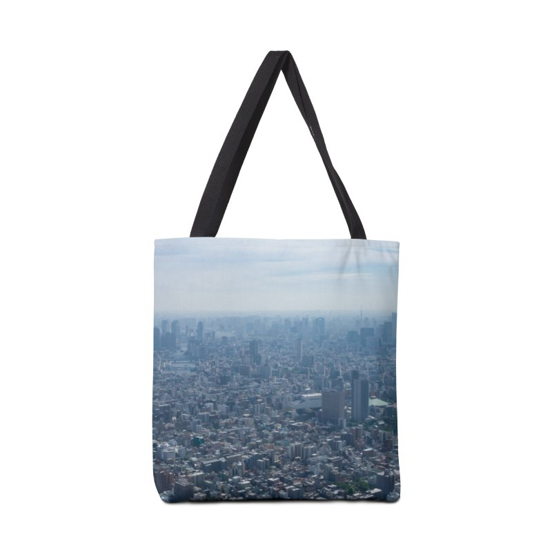 Tokyo from Above Accessories Tote Bag Bag by leff.photo