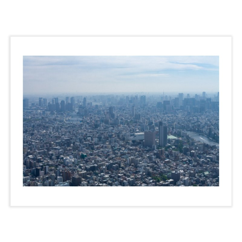 Tokyo from Above Home Fine Art Print by leff.photo