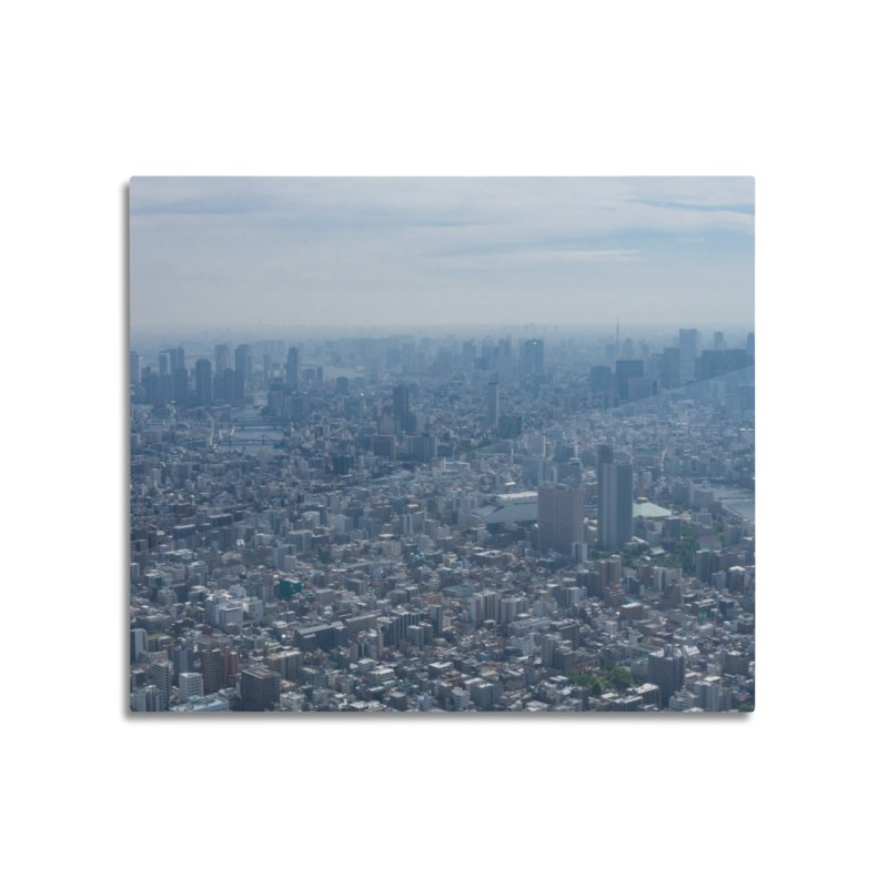 Tokyo from Above Home Mounted Aluminum Print by leff.photo