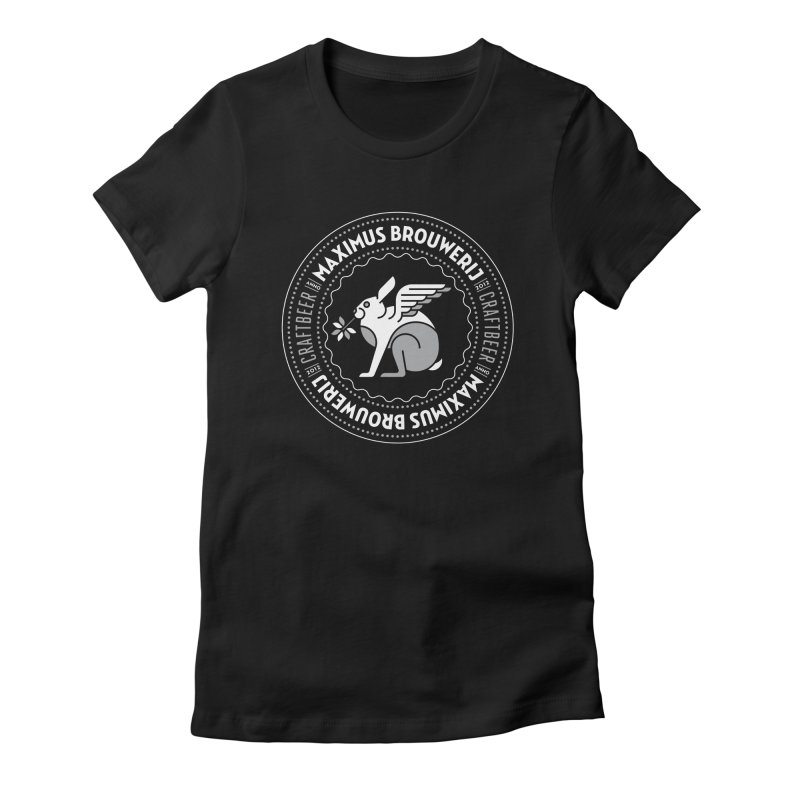 Arcticus Maximus Brouwerij Women's Fitted T-Shirt by leffegoldstein's Artist Shop