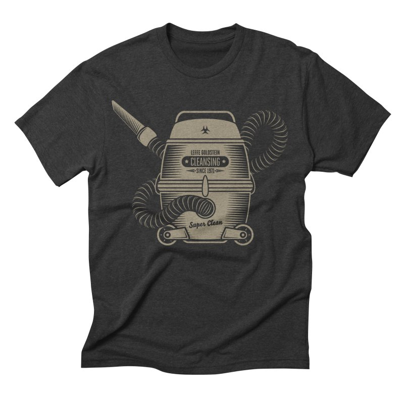 Cleansing Men's Triblend T-shirt by leffegoldstein's Artist Shop