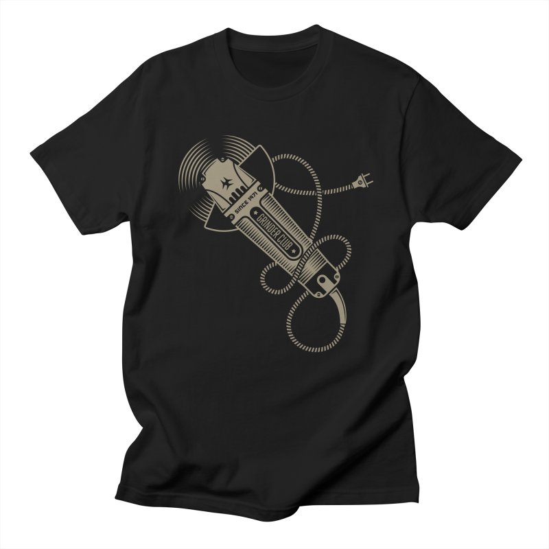 Grinder Club Men's T-Shirt by leffegoldstein's Artist Shop