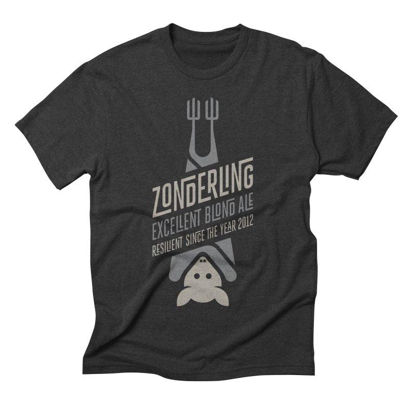 Zonderling, Bat Men's Triblend T-shirt by leffegoldstein's Artist Shop