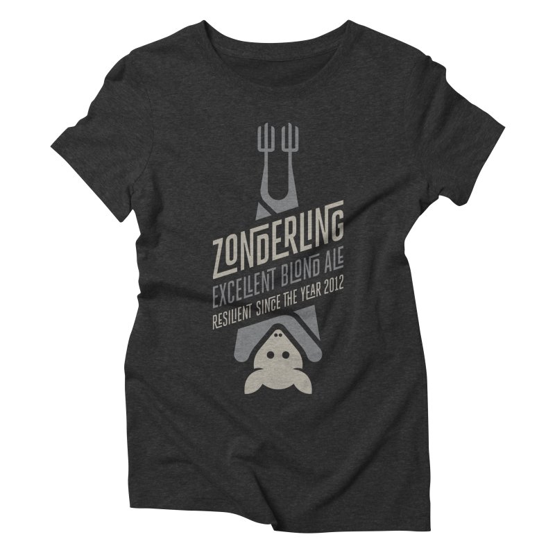 Zonderling, Bat Women's Triblend T-shirt by leffegoldstein's Artist Shop