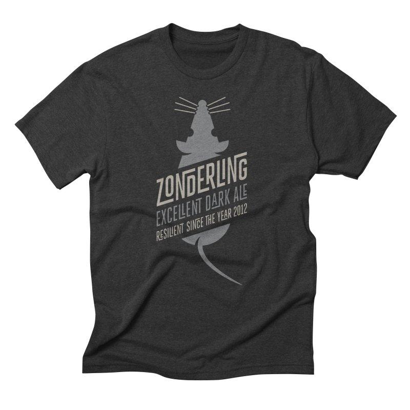 Zonderling, Mouse Men's Triblend T-Shirt by leffegoldstein's Artist Shop