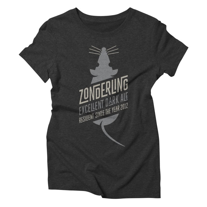 Zonderling, Mouse Women's Triblend T-shirt by leffegoldstein's Artist Shop