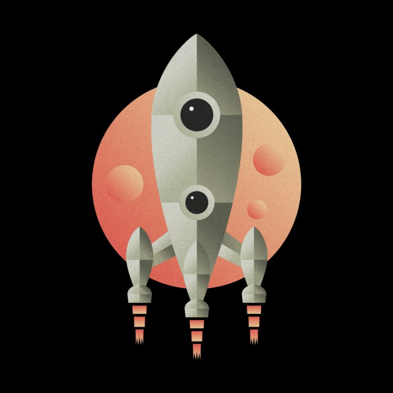 Rocket None  by leffegoldstein's Artist Shop