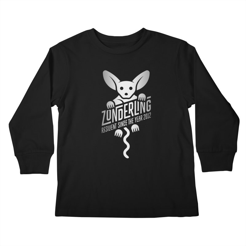 Zonderling Fenec Fox Kids Longsleeve T-Shirt by leffegoldstein's Artist Shop