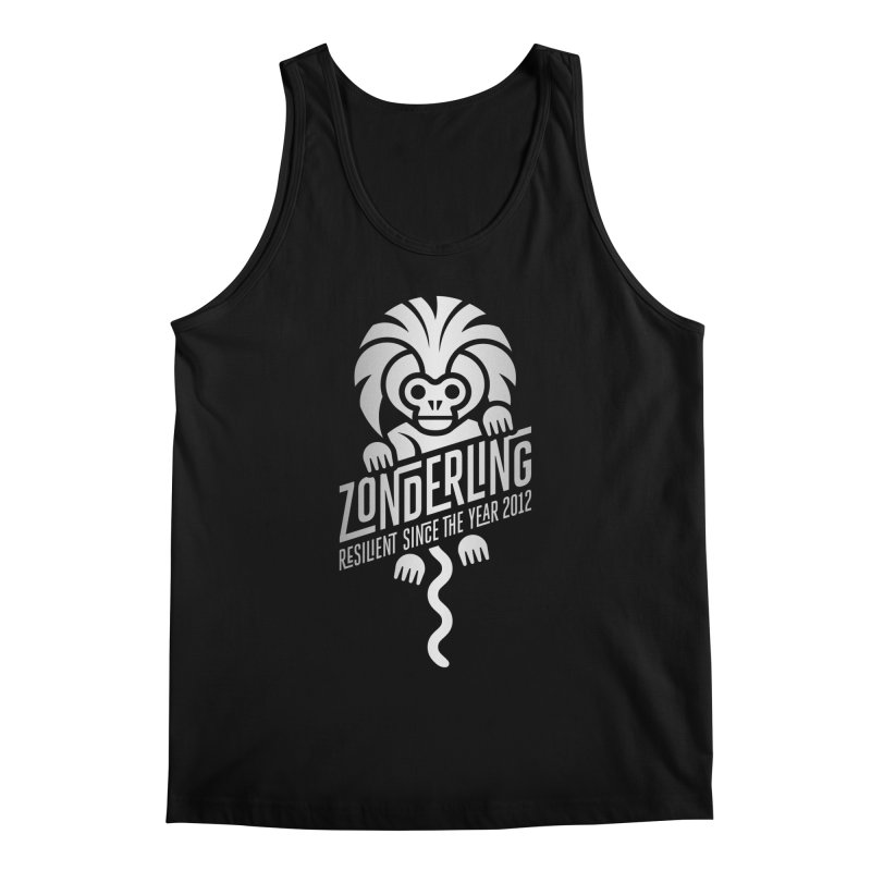 Zonderling Cotton Top Tamarin Monkey Men's Regular Tank by leffegoldstein's Artist Shop