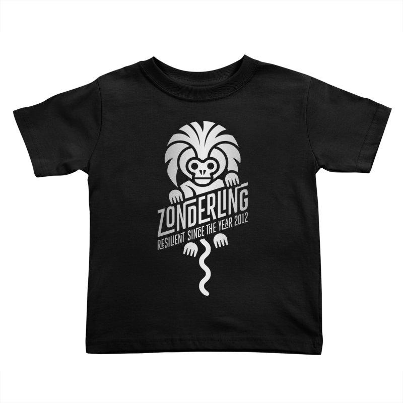 Zonderling Cotton Top Tamarin Monkey Kids Toddler T-Shirt by leffegoldstein's Artist Shop