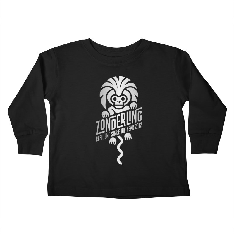 Zonderling Cotton Top Tamarin Monkey Kids Toddler Longsleeve T-Shirt by leffegoldstein's Artist Shop