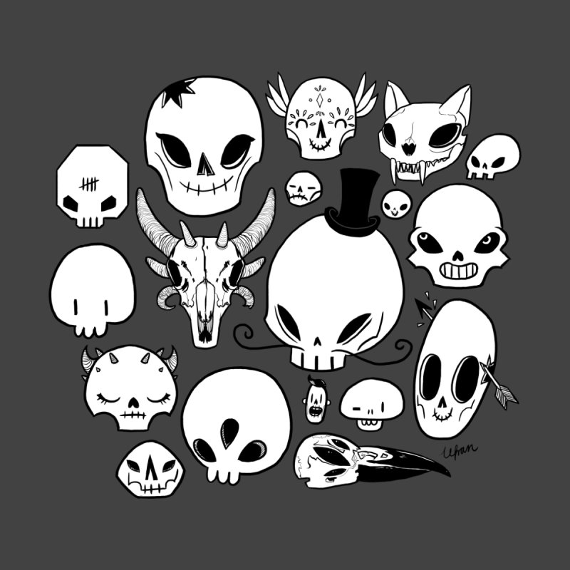 Skulls by lefran's Artist Shop
