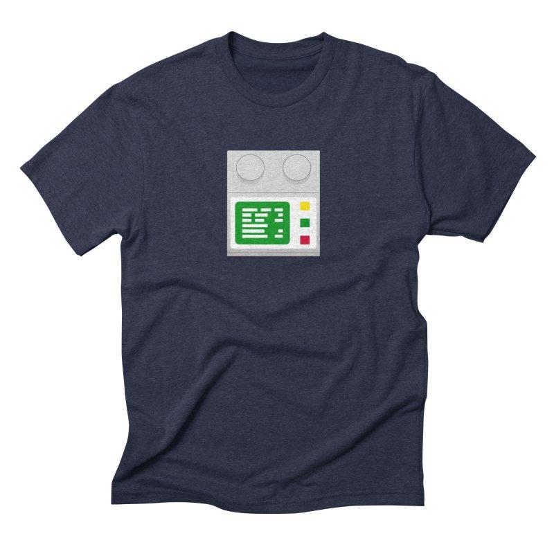 My First Computer Men's Triblend T-Shirt by left brain shirts