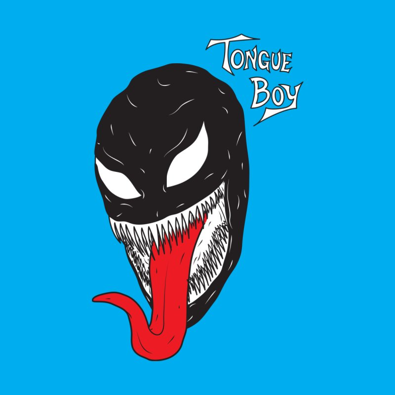 Tongue Boy - Venom Men's T-Shirt by lefteyeburns's Artist Shop