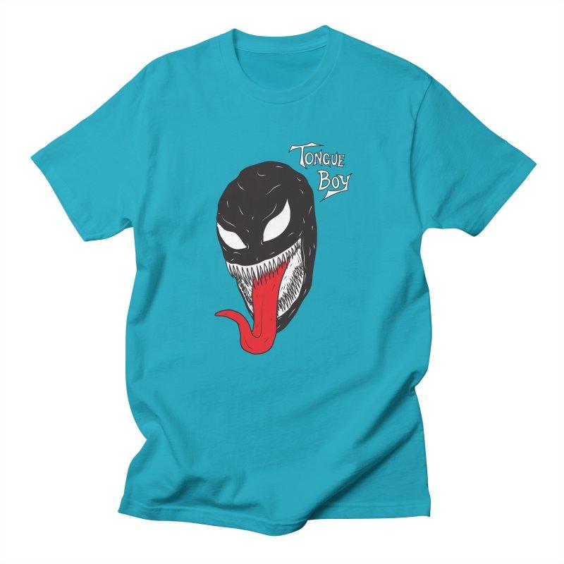 Tongue Boy - Venom Men's T-Shirt by lefteyeburns's Artist Shop