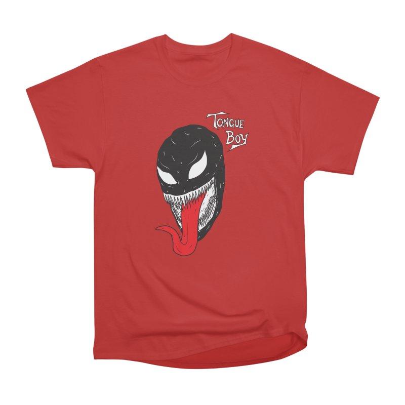 Tongue Boy - Venom Women's Heavyweight Unisex T-Shirt by lefteyeburns's Artist Shop
