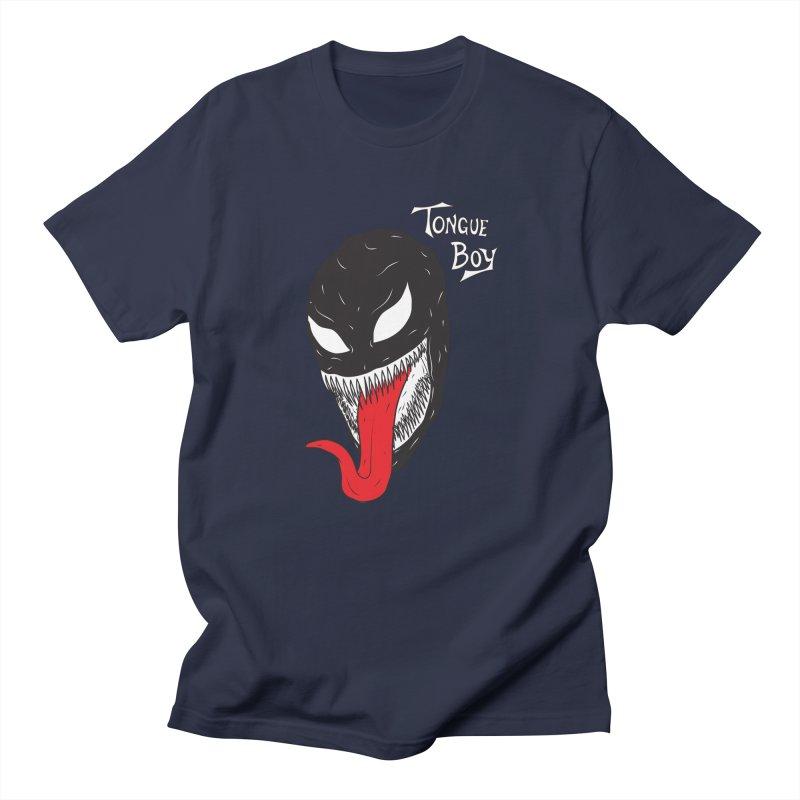 Tongue Boy - Venom Men's Regular T-Shirt by lefteyeburns's Artist Shop