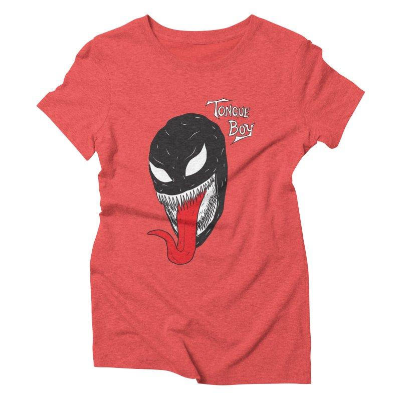 Tongue Boy - Venom Women's Triblend T-Shirt by lefteyeburns's Artist Shop