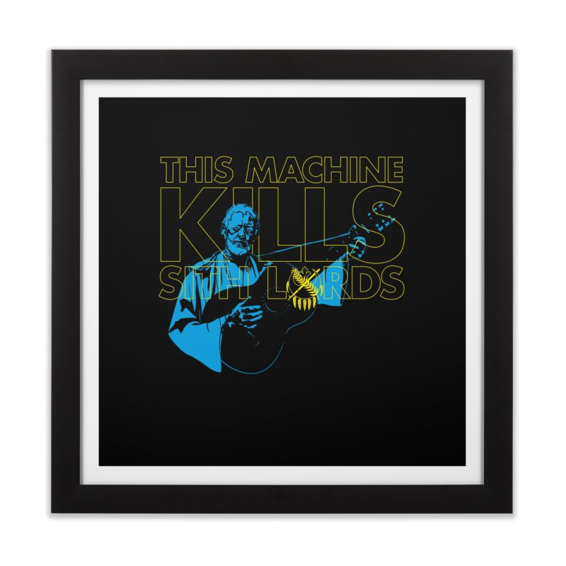 Help Me Okie Kenobi, You're My Only Hope! Home Framed Fine Art Print by lefteyeburns's Artist Shop
