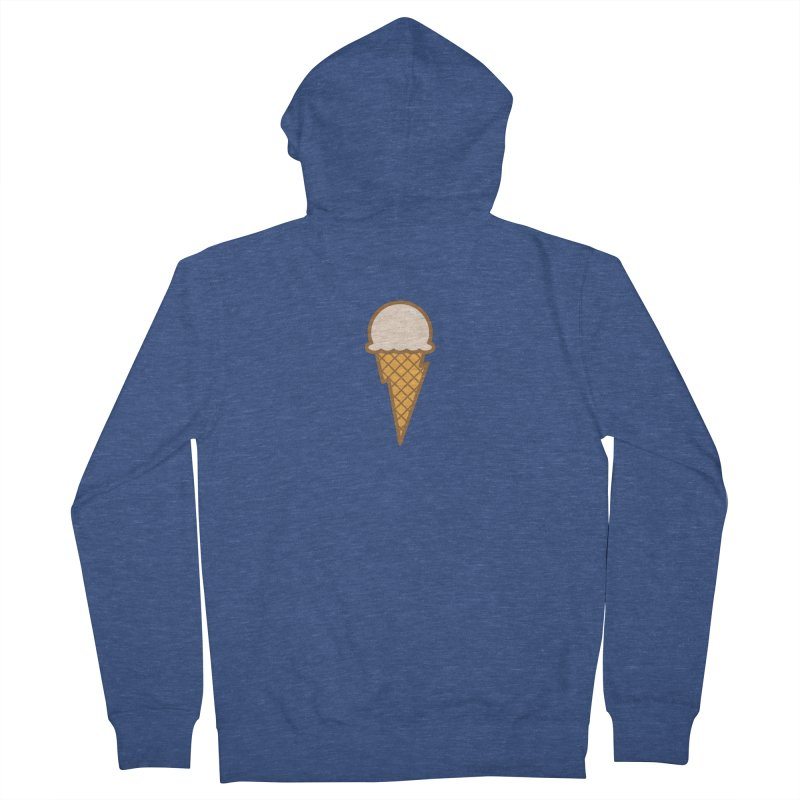 Thunder Cone Men's French Terry Zip-Up Hoody by lefteyeburns's Artist Shop