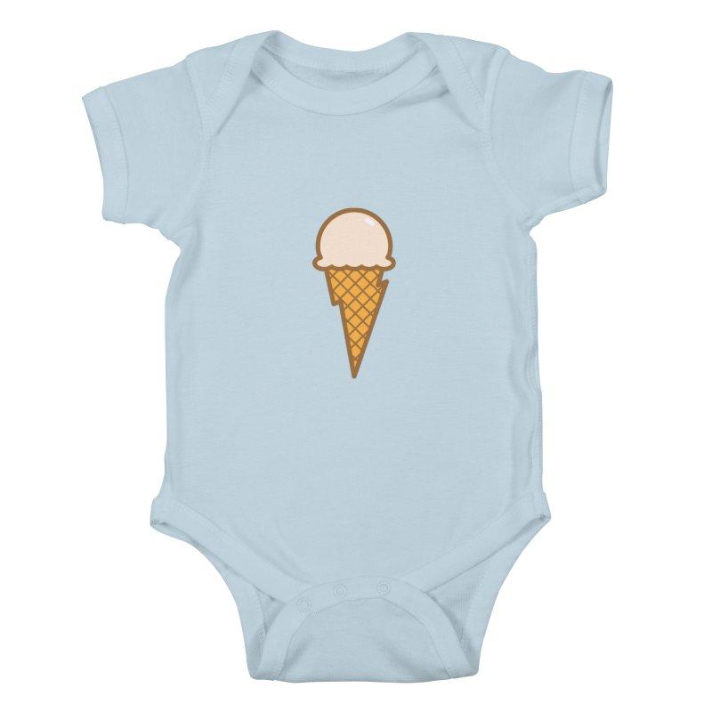 Thunder Cone Kids Baby Bodysuit by lefteyeburns's Artist Shop