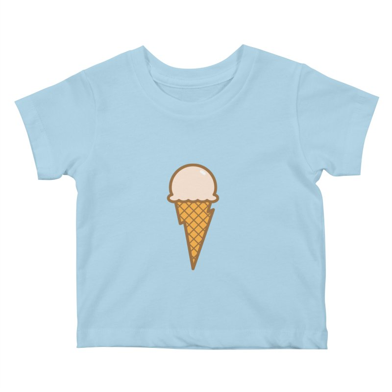 Thunder Cone Kids Baby T-Shirt by lefteyeburns's Artist Shop