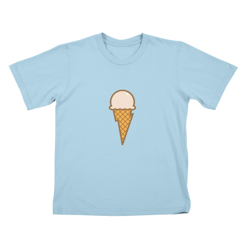 Thunder Cone Kids T-Shirt by lefteyeburns's Artist Shop