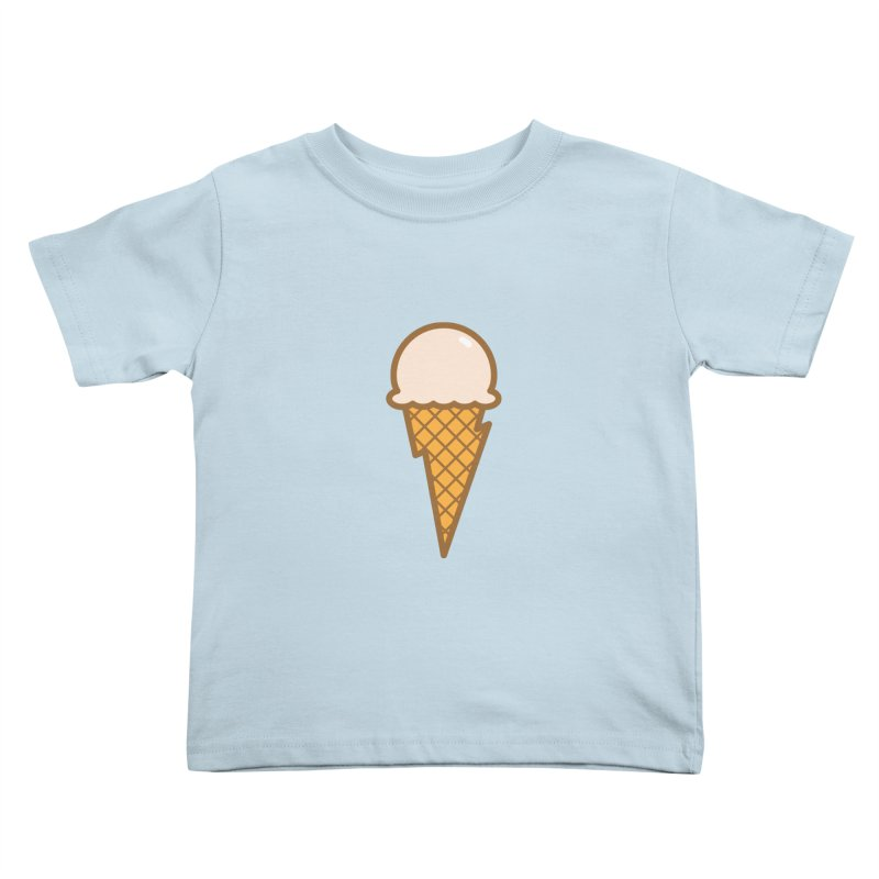Thunder Cone Kids Toddler T-Shirt by lefteyeburns's Artist Shop