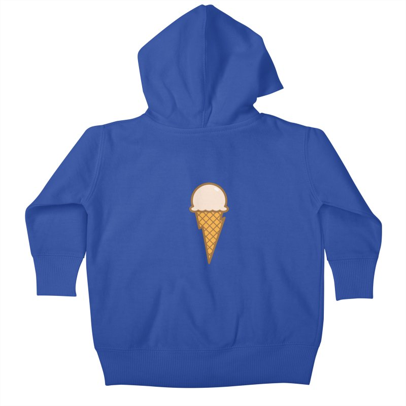 Thunder Cone Kids Baby Zip-Up Hoody by lefteyeburns's Artist Shop