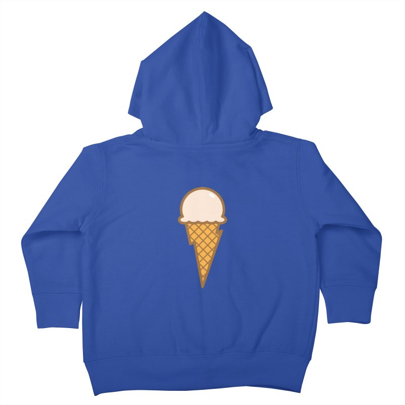 Thunder Cone Kids Toddler Zip-Up Hoody by lefteyeburns's Artist Shop