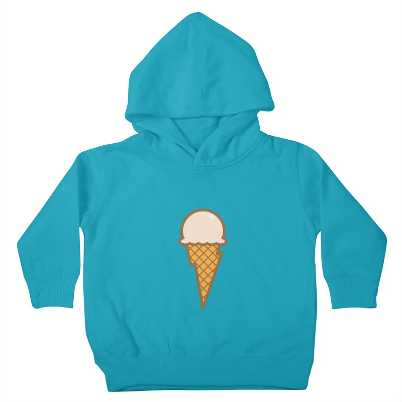 Thunder Cone Kids Toddler Pullover Hoody by lefteyeburns's Artist Shop