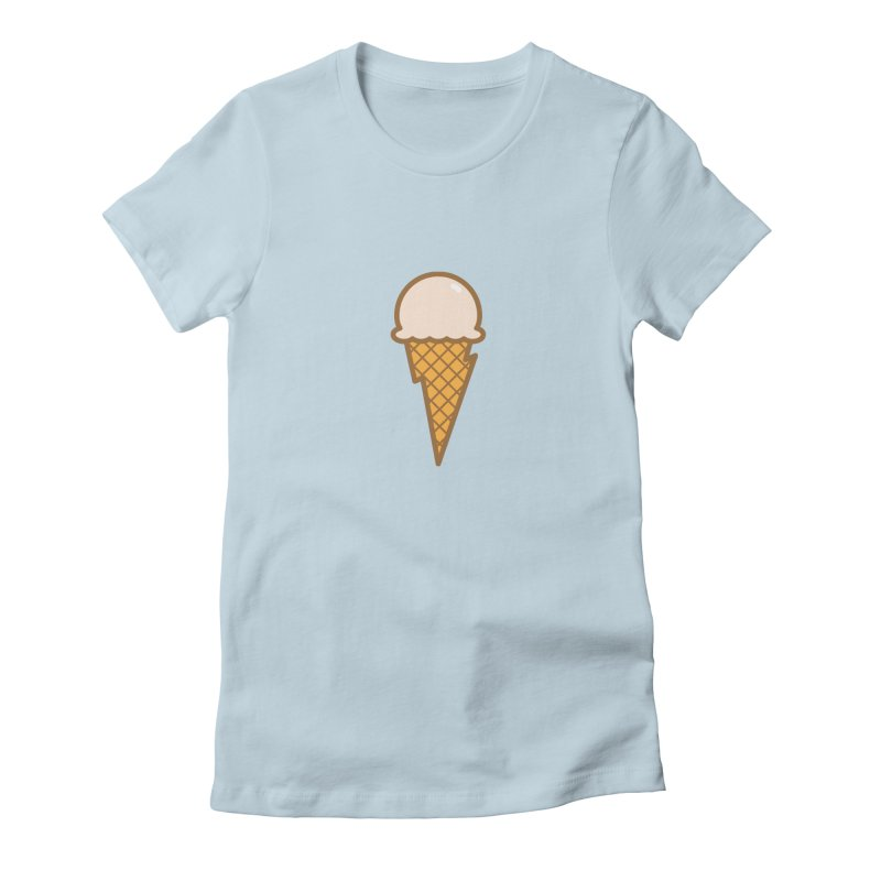 Thunder Cone Women's T-Shirt by lefteyeburns's Artist Shop