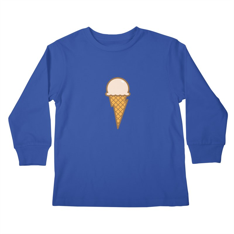 Thunder Cone Kids Longsleeve T-Shirt by lefteyeburns's Artist Shop