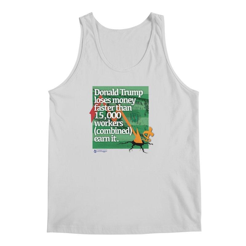 DtRump Loses Money FAST Men's Regular Tank by Lefthugger