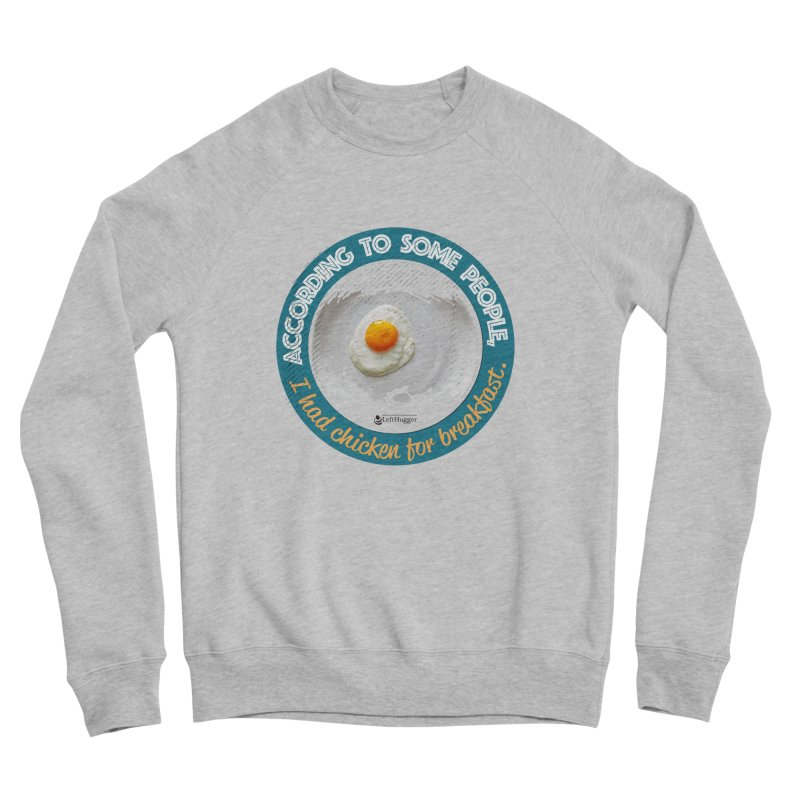 Sunny side up Men's Sponge Fleece Sweatshirt by Lefthugger