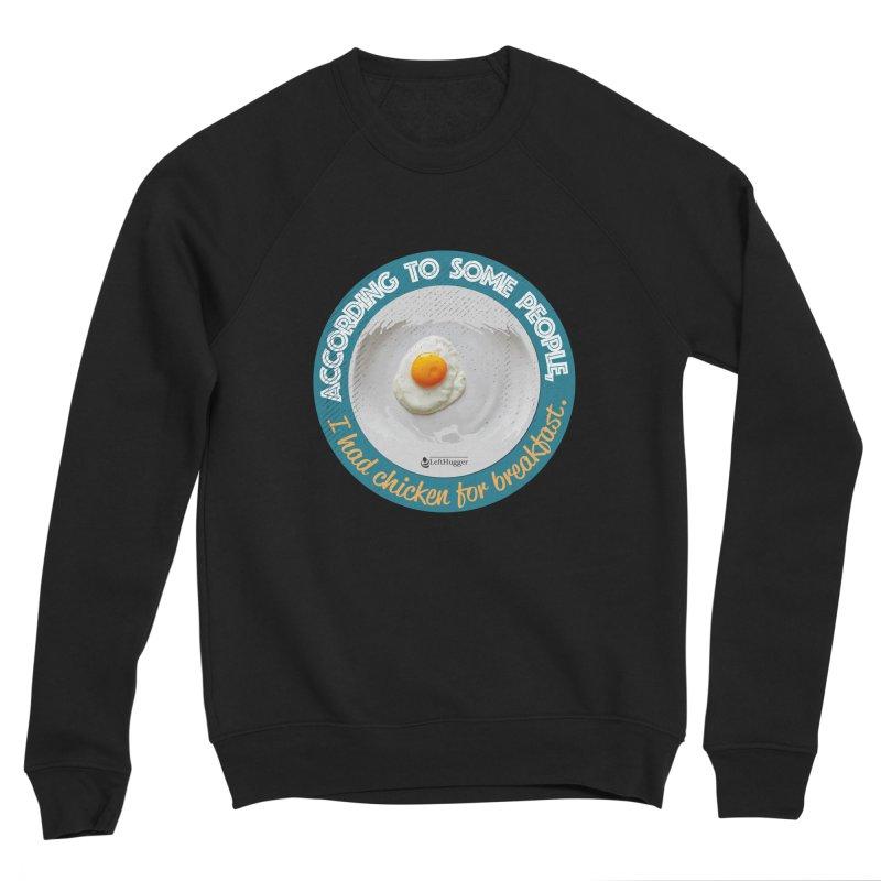 Sunny side up Women's Sponge Fleece Sweatshirt by Lefthugger