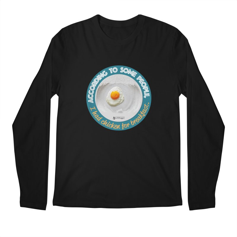 Sunny side up Men's Longsleeve T-Shirt by Lefthugger