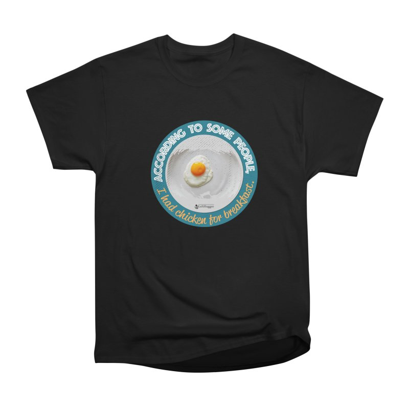 Sunny side up Men's Heavyweight T-Shirt by Lefthugger
