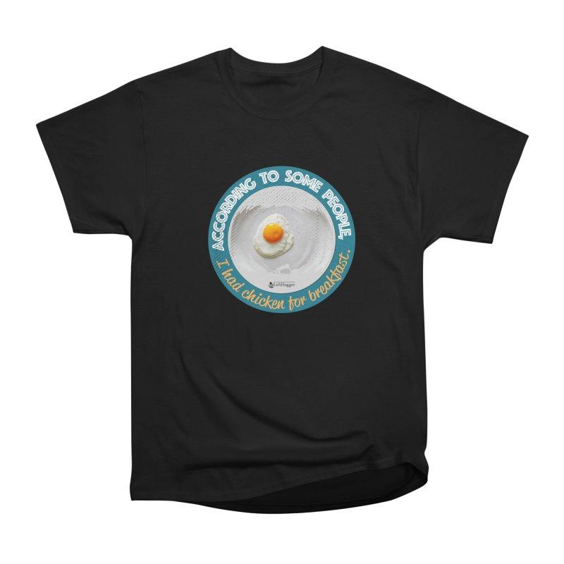 Sunny side up Women's Heavyweight Unisex T-Shirt by Lefthugger