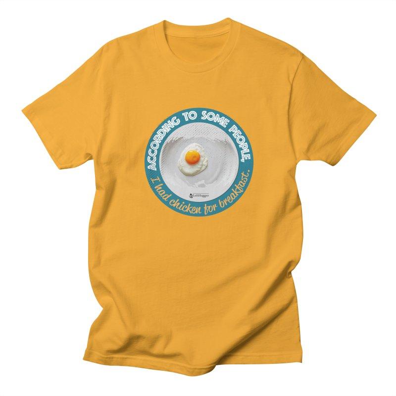 Sunny side up Men's Regular T-Shirt by Lefthugger