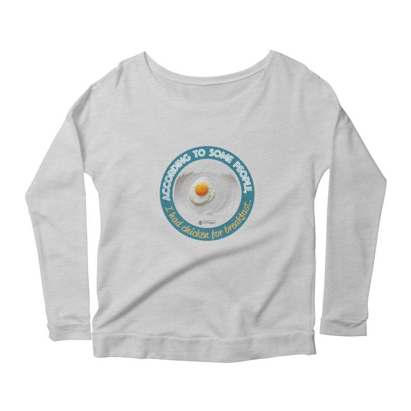 Sunny side up Women's Longsleeve T-Shirt by Lefthugger