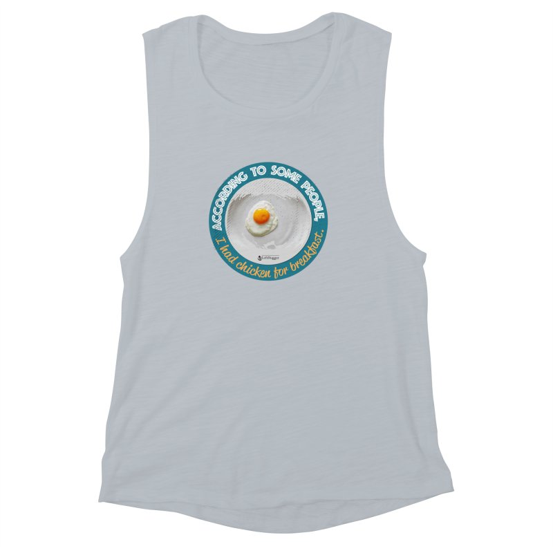 Sunny side up Women's Muscle Tank by Lefthugger
