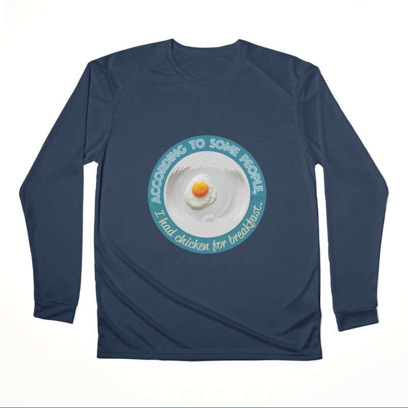 Sunny side up Men's Performance Longsleeve T-Shirt by Lefthugger