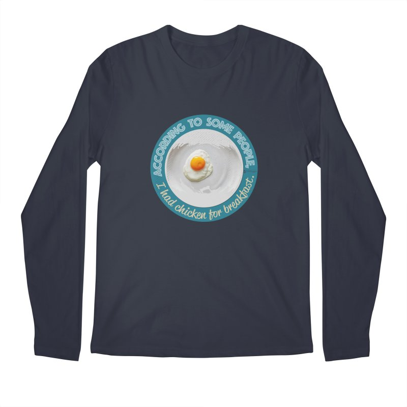 Sunny side up Men's Regular Longsleeve T-Shirt by Lefthugger