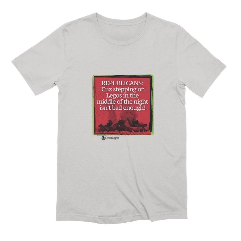 Republicans: Men's T-Shirt by Lefthugger