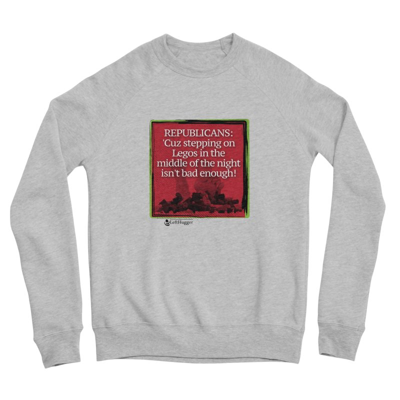 Republicans: Women's Sponge Fleece Sweatshirt by Lefthugger