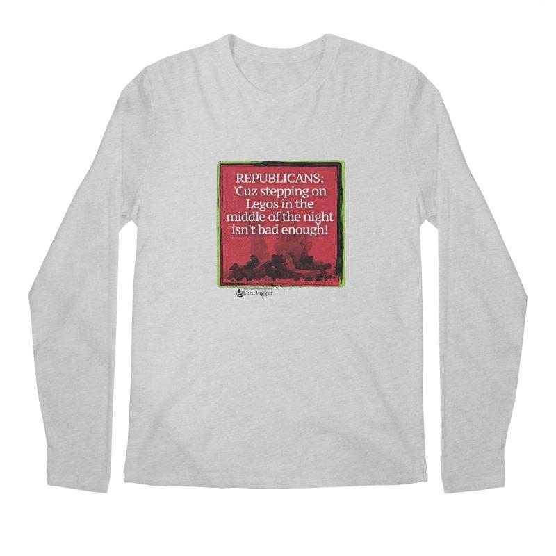 Republicans: Men's Regular Longsleeve T-Shirt by Lefthugger